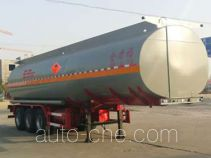 Huachang QDJ9406GYY oil tank trailer