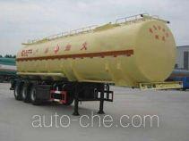 Huachang QDJ9407GHY chemical liquid tank trailer