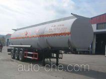 Huachang QDJ9407GHYA chemical liquid tank trailer