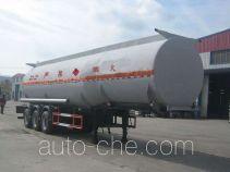 Huachang QDJ9407GRY flammable liquid tank trailer