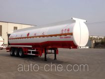Huachang QDJ9407GYY oil tank trailer