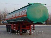 Huachang QDJ9408GHYA chemical liquid tank trailer