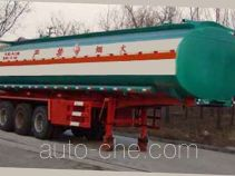Huachang QDJ9408GHYA chemical liquid tank trailer