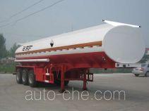 Huachang QDJ9409GHYA chemical liquid tank trailer