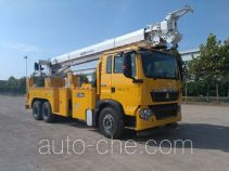 Qingte QDT5200TXGS integrated pole setting truck