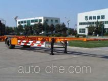 Qingte QDT9150TJZG empty container transport trailer