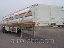 Qingte QDT9340GGQ high pressure gas transport trailer