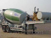 Qingte QDT9340GJB concrete mixer trailer