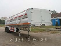 Qingte QDT9360GGQ high pressure gas transport trailer