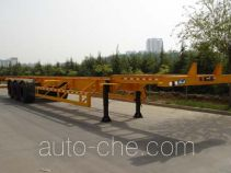 Qingte QDT9372TJZG container transport trailer