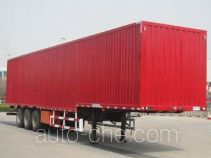 Qingte QDT9402XXY box body van trailer