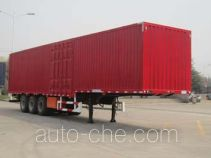 Qingte QDT9403XXY box body van trailer