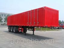 Qingte QDT9404XXY box body van trailer