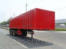 Qingte QDT9405XXY box body van trailer