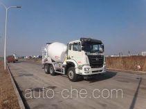 Qingzhuan QDZ5250GJBZAJ5GD1 concrete mixer truck