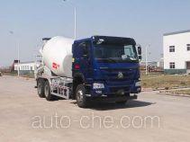 青专牌QDZ5250GJBZH43D1型混凝土搅拌运输车