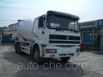 青专牌QDZ5250GJBZK型混凝土搅拌运输车