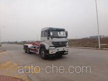 青专牌QDZ5250ZXXZJM5GD1型车厢可卸式垃圾车