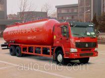 青专牌QDZ5252GFLZH型粉粒物料运输车