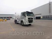 青专牌QDZ5258GJBZHC7H型混凝土搅拌运输车