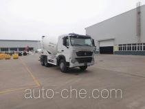 青专牌QDZ5258GJBZHT7H型混凝土搅拌运输车