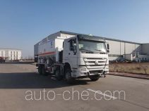 Qingzhuan QDZ5310THLZH38D1B granular ammonuim nitrate and fuel oil (ANFO) on-site mixing truck