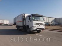 Qingzhuan QDZ5310THZZH38D1B ammonuim nitrate and fuel oil (ANFO) on-site mixing heavy truck