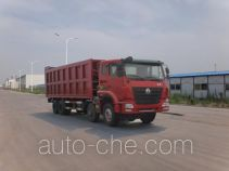 Qingzhuan docking garbage compactor truck