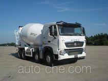 青专牌QDZ5316GJBZHT7H型混凝土搅拌运输车