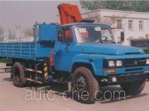 沃达特牌QHJ5090JSQ060型随车起重运输车