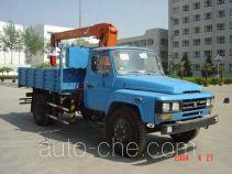 沃达特牌QHJ5090JSQ060S型随车起重运输车