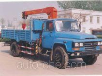 沃达特牌QHJ5090JSQ060SF1型随车起重运输车