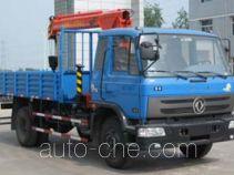 沃达特牌QHJ5101JSQ型随车起重运输车