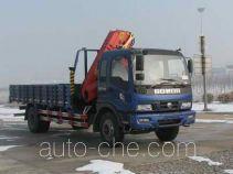 沃达特牌QHJ5150JSQ型随车起重运输车