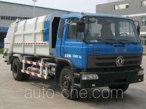 Wodate back-loading garbage compactor truck (packer truck)