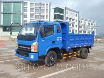 钦机牌QJ5820PD4型自卸低速货车