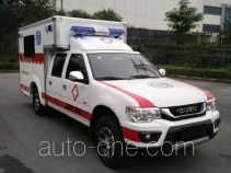 庆铃牌QL5032XJHBWWSJ型救护车