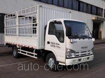 Qingling Isuzu QL5040CCY3HARJ грузовик с решетчатым тент-каркасом