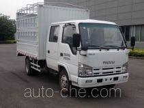 Qingling Isuzu QL5040CCY3HWRJ грузовик с решетчатым тент-каркасом