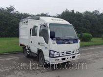 Qingling Isuzu QL5040CCYA1EWJ грузовик с решетчатым тент-каркасом