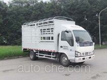 Qingling Isuzu QL5040CCYA1HAJ грузовик с решетчатым тент-каркасом