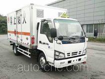 Qingling Isuzu QL5040XRQA5HAJ flammable gas transport van truck