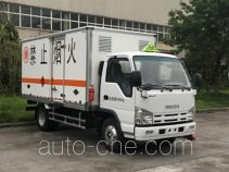 Qingling Isuzu QL5040XRQA6HAJ flammable gas transport van truck
