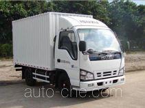 庆铃牌QL5040XXYA1EAJ型厢式运输车