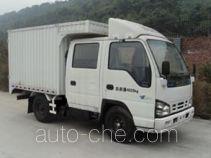 庆铃牌QL5040XXYA1EWJ型厢式运输车