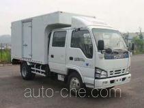 庆铃牌QL5040XXYA1HWJ型厢式运输车