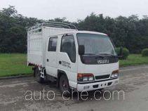 Qingling Isuzu QL5041CCY3EWRJ stake truck