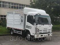 庆铃牌QL5041CCYA6HAJ型仓栅式运输车