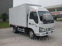 庆铃牌QL5041XXYA1FAJ型厢式运输车