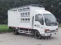 Qingling Isuzu QL5050CCY3HARJ грузовик с решетчатым тент-каркасом